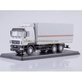 MAZ-6312 Flatbed Truck with Tent (facelift) MCS