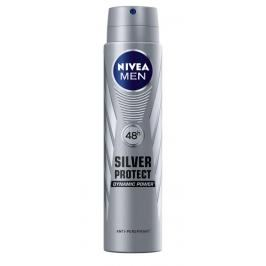 Nivea Dezodorant SILVER PROTECT DYNAMIC POWER spray męski  250ml