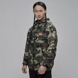 Kurtka męska Cayler and Sons WL Trust Windbreaker woodland camo / red